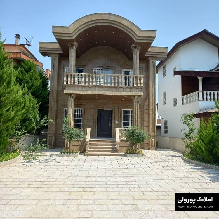 فروش ویلا ۳۳۰ زمین و ۲۰۰ بنا شمعجاران نوشهر