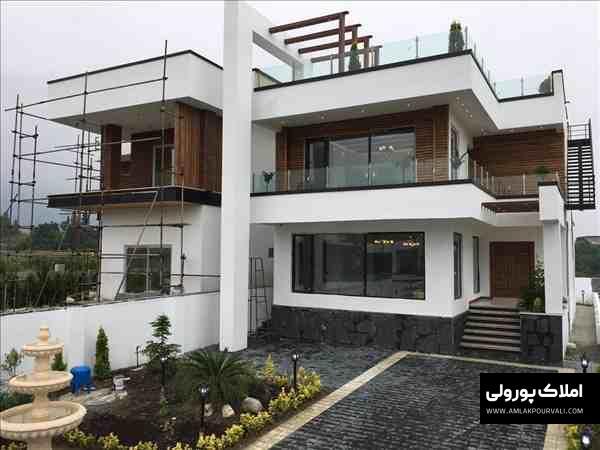 خرید ویلا لوکس با روف گاردن در نوشهر